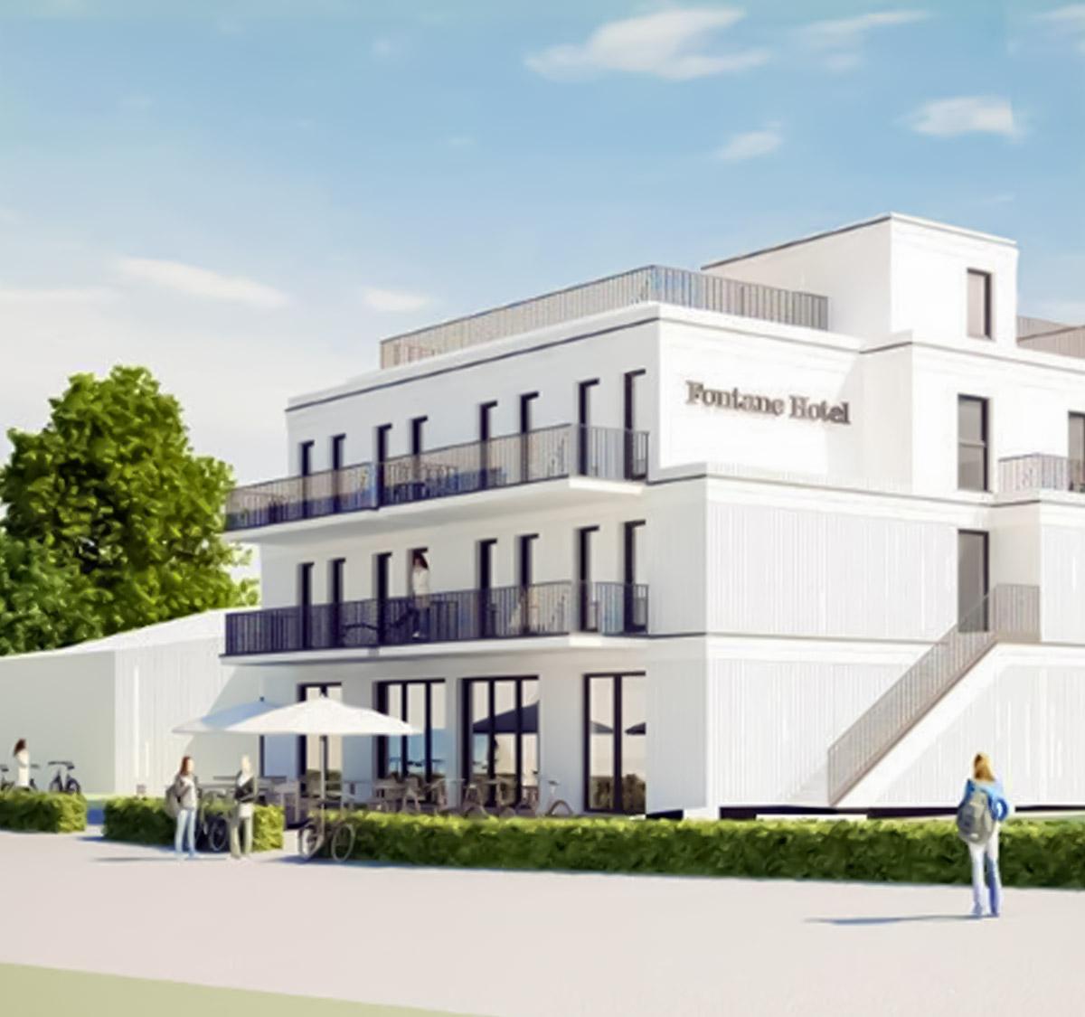 Neubau | Fontane Hotel | Am See | 16244 Altenhof/Schorfheide